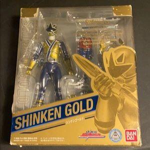 S.H. Figuarts Skinken Gold/ Gold Samurai Ranger